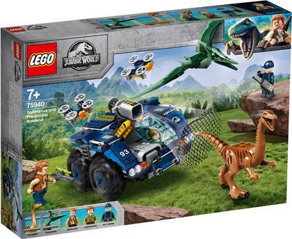 Ausbruch von Gallimimus und - Pteranodon, Lego Jurassic