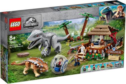 Indominus Rex vs. Ankylo- - saurus, Lego Jurassic World,