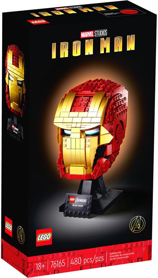 Iron Mans Helm - Lego Marvel Avengers,