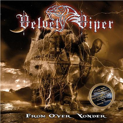 Velvet Viper - From Over Yonder (2020 Reissue, Massacre, Gatefold, Limited Edition, Remastered, Clear Vinyl)