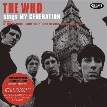 The Who - Sings My Generation (US Version, Mini LP, Japan Edition)