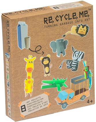 Re-Cycle-Me - Bastelset Dschungel