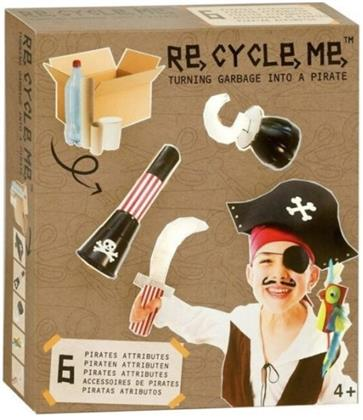 Re-Cycle-Me - Bastelset Make a Pirat