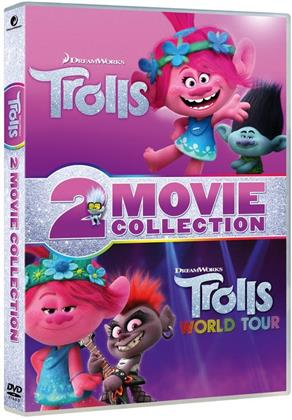 Trolls + Trolls World Tour - 2 Movie Collection (2 DVDs)