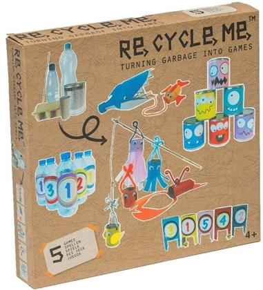 Re-Cycle-Me - Turning garbage into Games