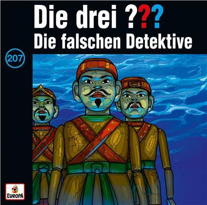 Die Drei ??? - 207/Die falschen Detektive (2 LPs)
