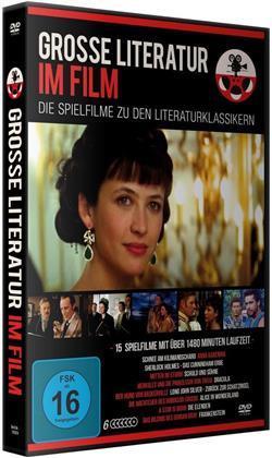 Grosse Literatur im Film - 15 Spielfilme (6 DVDs)
