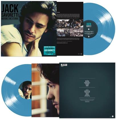 Jack Savoretti - Before The Storm (2020 Reissue, Demon Records, Blue Vinyl, LP)