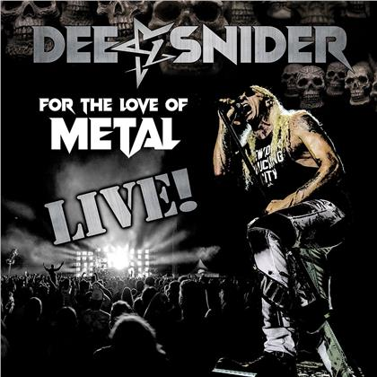 Dee Snider (Twisted Sister) - For The Love Of Metal - Live (2 LP + DVD)