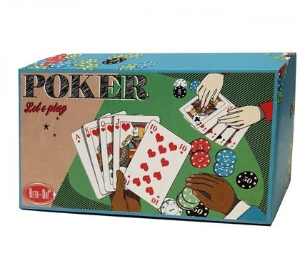Retr-Oh! Pokerset (Cards & 200 chips)