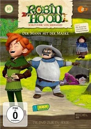 Robin Hood - Schlitzohr von Sherwood - Vol. 16 - Der Mann mit der Maske