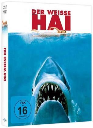 Der weisse Hai (1975) (Limited Edition, Mediabook, Blu-ray + DVD)