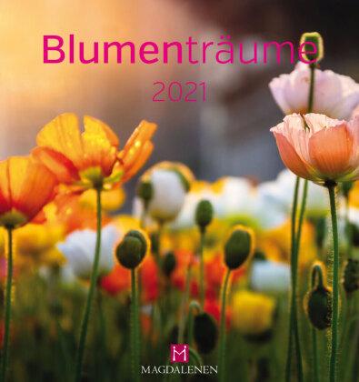 Blumenträume 2021 Postkartenkalender