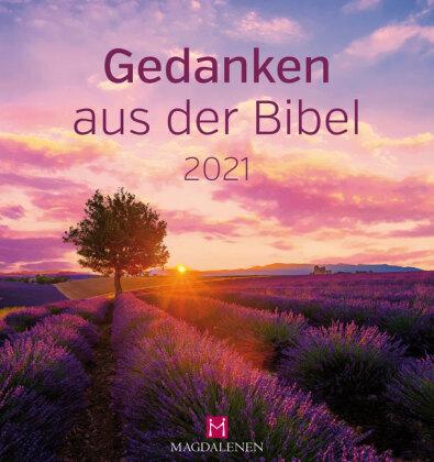 Gedanken aus der Bibel 2021 Postkartenkalender