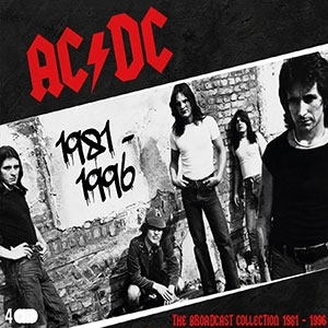 AC/DC - The Broadcast Collection 1981-1996 (4 CDs)