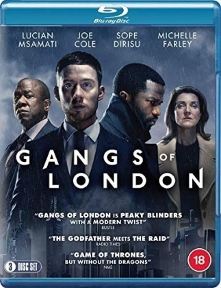 Gangs of London - Season 1 (3 Blu-rays)
