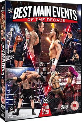 WWE: Best Main Events Of The Decade - 2010-2020 (2 DVD)