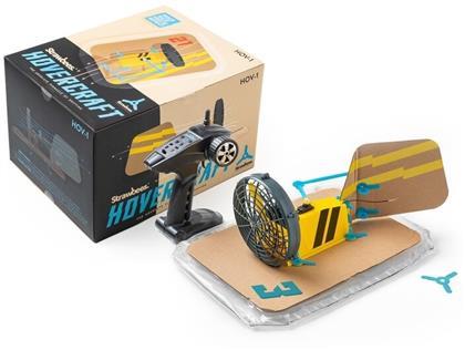 Strawbees - Luftkissen Boot Bausatz (Hovercraft Kit)