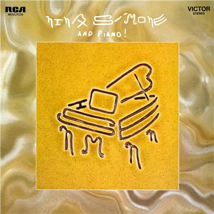 Nina Simone - And Piano (2020 Reissue, Music On Vinyl, Limited Edition, Colored, LP)