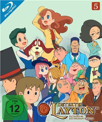 Detektei Layton - Katrielles rätselhafte Fälle - Vol. 5 (2 Blu-rays)