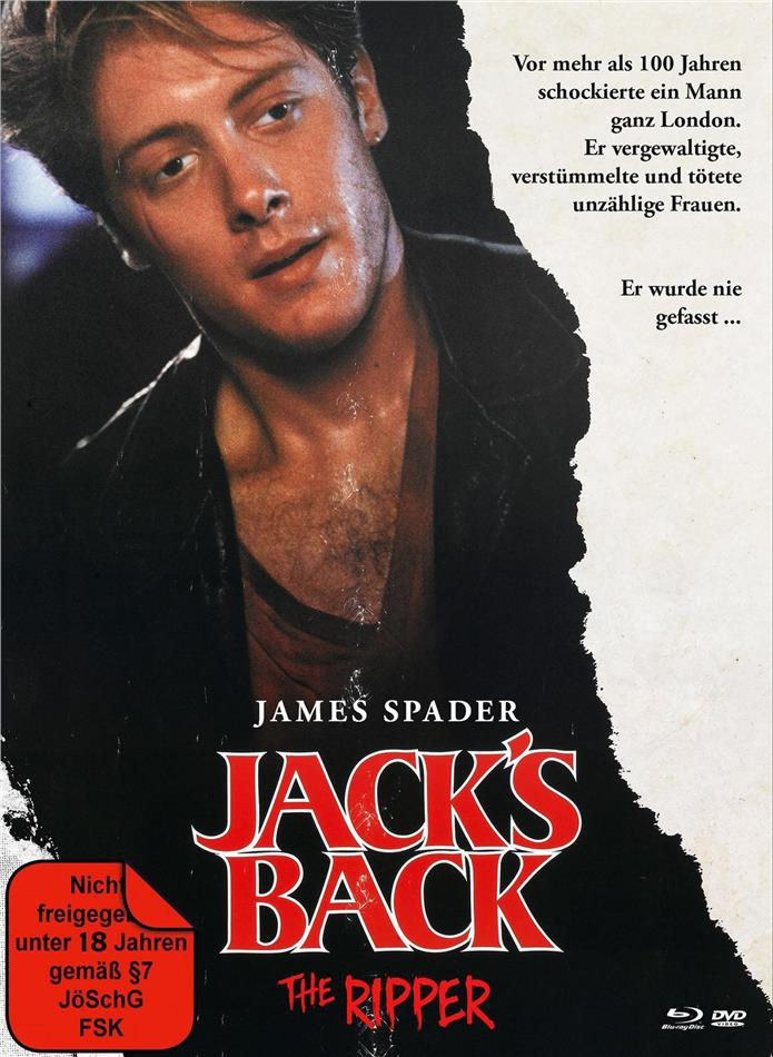 Jack's Back - The Ripper (1988) (Cover A, Limited Edition, Mediabook, Blu-ray + DVD)