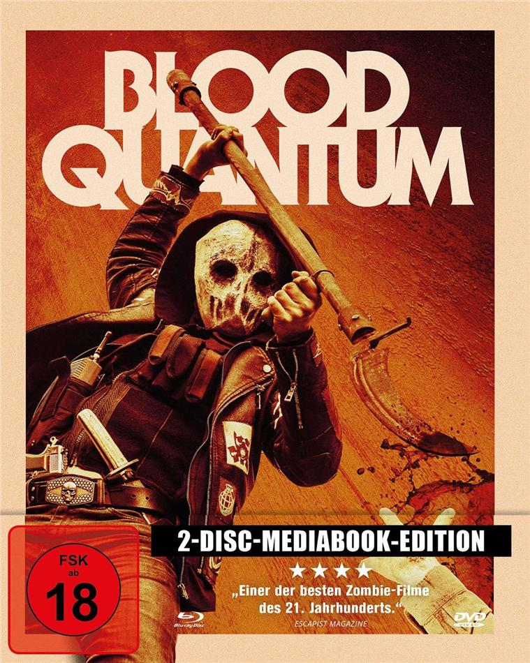 Blood Quantum (2019) (Limited Edition, Mediabook, Blu-ray + DVD)