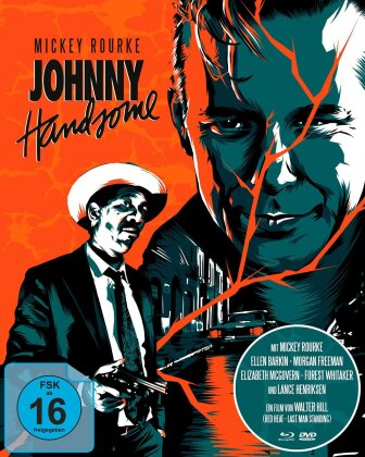 Johnny Handsome (1989) (Mediabook, 2 Blu-rays + DVD)