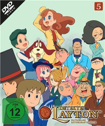 Detektei Layton - Katrielles rätselhafte Fälle - Vol. 5 (2 DVDs)