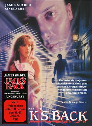 Jack's Back - The Ripper (1988) (Cover B, Limited Edition, Mediabook, Blu-ray + DVD)