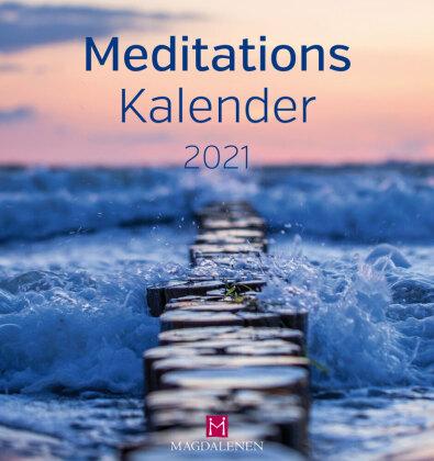 Meditations Kalender 2021 Postkartenkalender