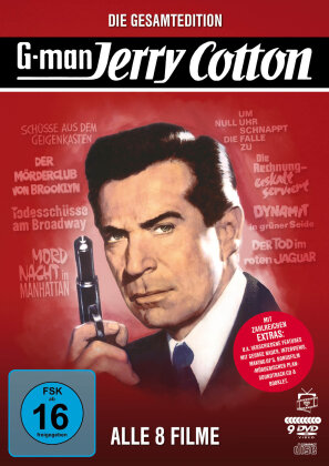 Jerry Cotton - Die Gesamtedition: Alle 8 Filme (Filmjuwelen, 9 DVDs + CD)