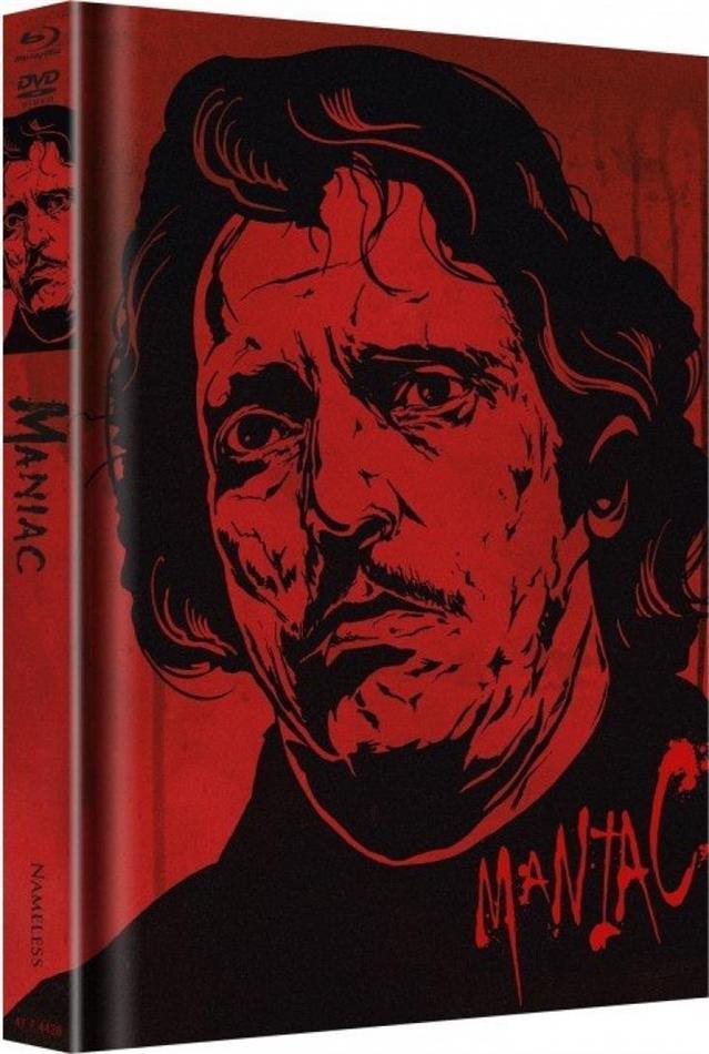 Maniac (1980) (Cover E, Edizione Limitata, Mediabook, Uncut, 4K Ultra HD + 3 Blu-ray + DVD + CD)