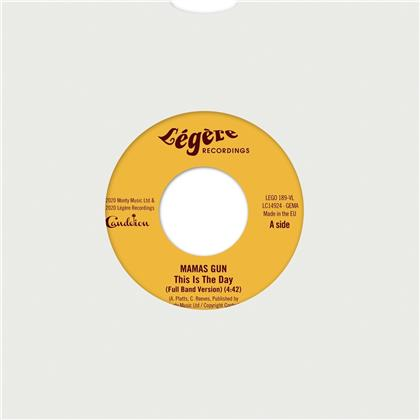 """Mamas Gun - This Is The Day (2nd Edition, Limited Edition, Red Vinyl, 7"""" Single)"""