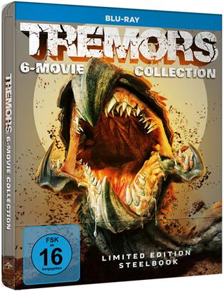 Tremors 1-6 - 6-Movie Collection (Limited Edition, Steelbook, 6 Blu-rays)