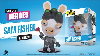 Ubi Heroes - Rabbid Sam Fisher Figur