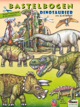 Dinosaurier Bastelbogen
