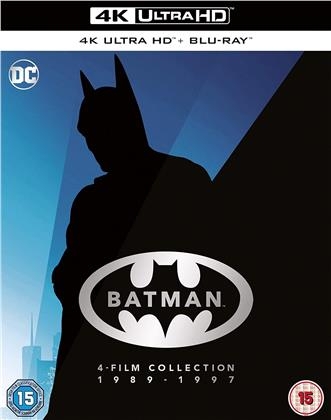 Batman 1989-1997 - 4-Film Collection (4 4K Ultra HDs + 4 Blu-rays)