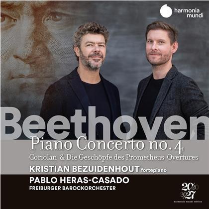 Pablo Heras-Casado, Freiburger Barockorchester, Ludwig van Beethoven (1770-1827) & Kristian Bezuidenhout - Piano Concertos #2