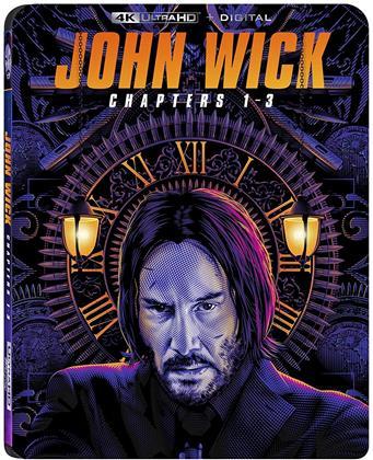 John Wick 1-3 (3 4K Ultra HDs)