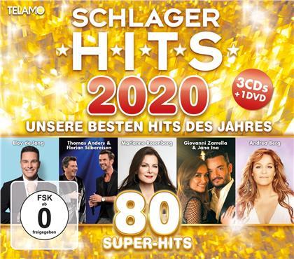 Schlager Hits 2020 (CD + DVD)