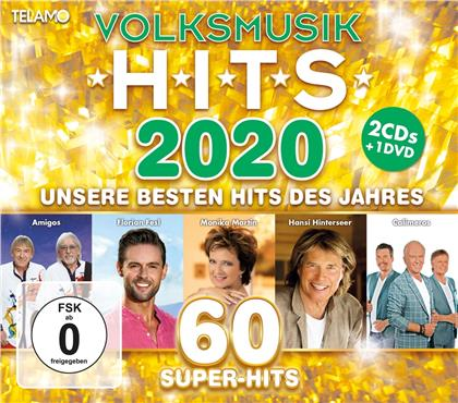 Volksmusik Hits 2020 (CD + DVD)