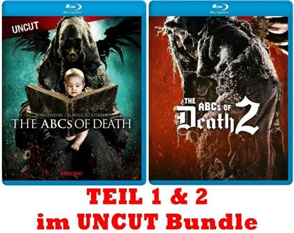 The ABCs of Death 1 & 2 (Uncut, 2 Blu-rays)