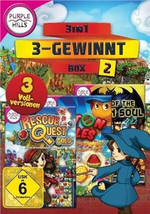 Purple Hills - 3-in-1 3-Gewinnt Box 2