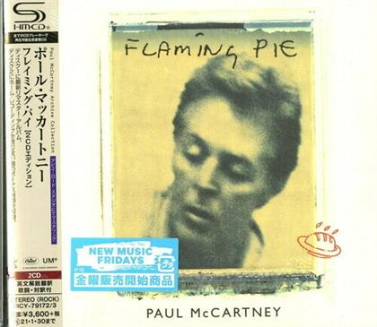 Paul McCartney - Flaming Pie (2020 Reissue, + Bonustracks, Japan Edition, Remastered, 2 CDs)