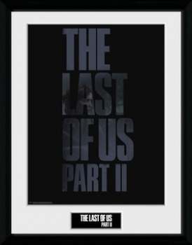 The Last Of Us 2: Logo - Framed Print 30cm x 40cm