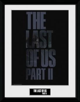 The Last Of Us 2: Logo - Framed Print 30cm x 40cm