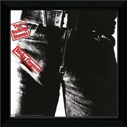 The Rolling Stones: Sticky Fingers - Framed Print 30cm x 30cm