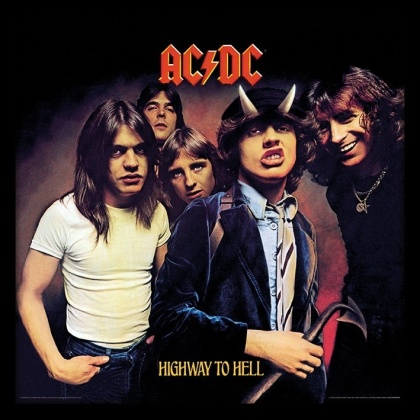 AC/DC: Highway to Hell Album Cover - Framed Print