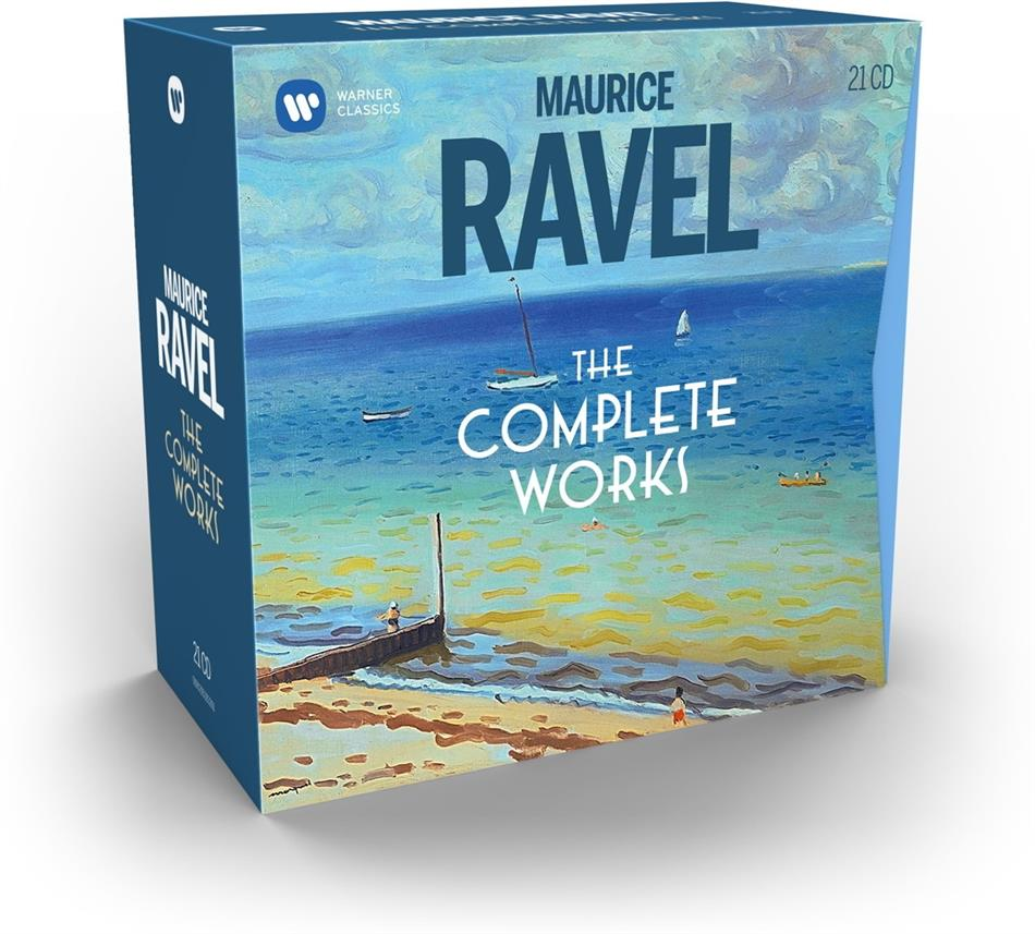 Maurice Ravel (1875-1937) - Complete (21 CDs)