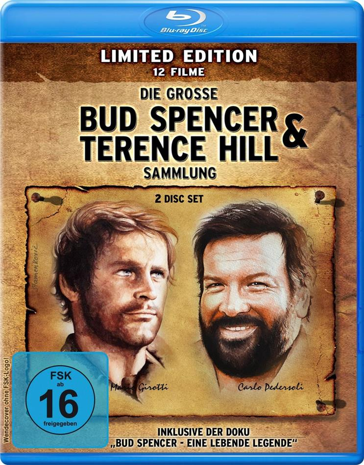 Die grosse Bud Spencer & Terence Hill Sammlung - 12 Filme (Limited Edition, 2 Blu-rays)